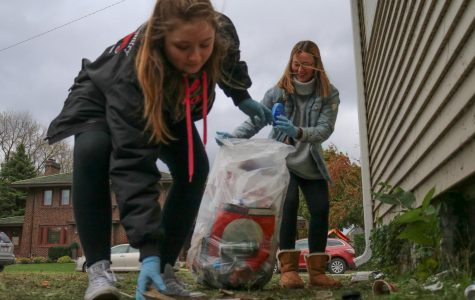 Students clean up Winona