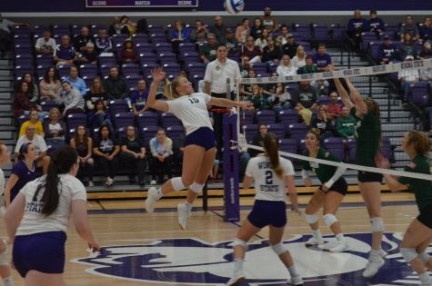 Volleyball stays hot on the road