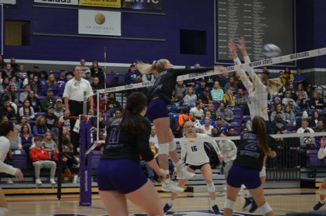 Volleyball rebounds after home loss