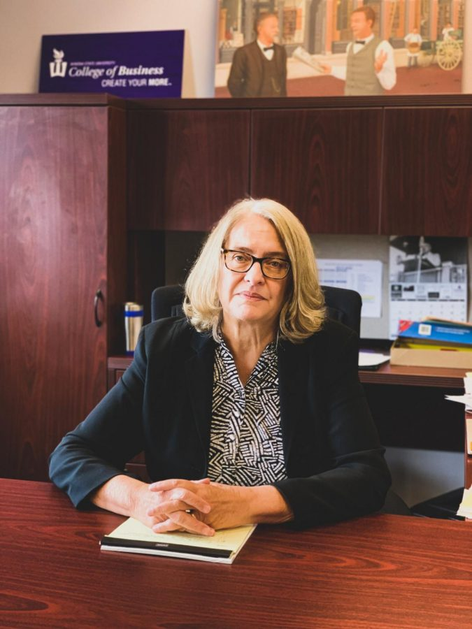 Dr. Marianne Collins, a faculty member of the university's College of Business for over a decade, was appointed as interim business dean after Dr. Hamid Akbari, chose to leave Winona State. Collins served as chairperson of the department since 2017 prior to her appointment.