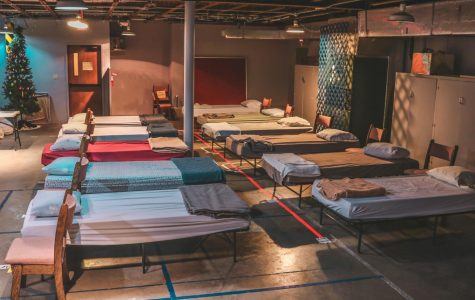 Winona Community Warming Center opens its doors from November to March to anyone in need of temporary shelter. The center offers guests a place to sleep, shower, and make food. Guests can find the Winona Community Warming Center by going to the alley behind the Community Bible Church in downtown Winona.