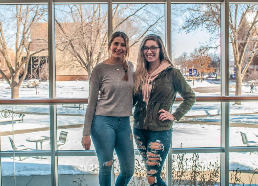 President+of+Pro-Choice+club+MacKenzie+Hanson%28left%29%2C+a+senior+year+Biology+major+with+Vice+President+Jessica+Rigby%28right%29%2C+a+senior+year+Sociology+major+are+seeking+Student+Senate+approval+for+a+pro-choice+club+on+campus.+Hanson+plans+on+the+new+club+being+geared+towards+educating+others+and+expressing+pro-choice+ideas+and+has+currently+16+students+officially+signed+up+for+the+club.