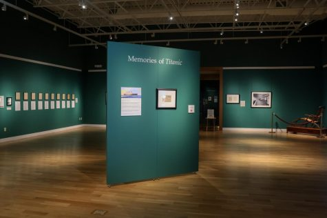 "The exhibit, ""Memories of the Titanic"", is a curated collection that explores the human cost of the disaster on Apr. 15, 1912. The exhibit also includes the hourly breakdown of the event, as the ship sank less than three hours after colliding with the iceberg."