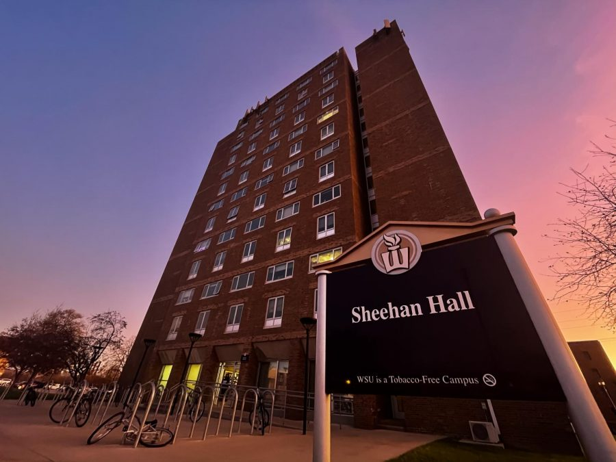 Floors+10+and+11+of+Sheehan+Hall+were+%09recently+quarantined+due+to+COVID-19.+The+dorm+implemented+a+no-visitors-at-all+policy+%E2%80%93+whether+they+were+visitors+from+on-+or+off-campus.+Earlier+in+the+fall+semester%2C+Lucas+and+Haake+Halls+were+the+first+of+the+residence+halls+on+Winona+State%E2%80%99s+campus+to+implement+quarantines.