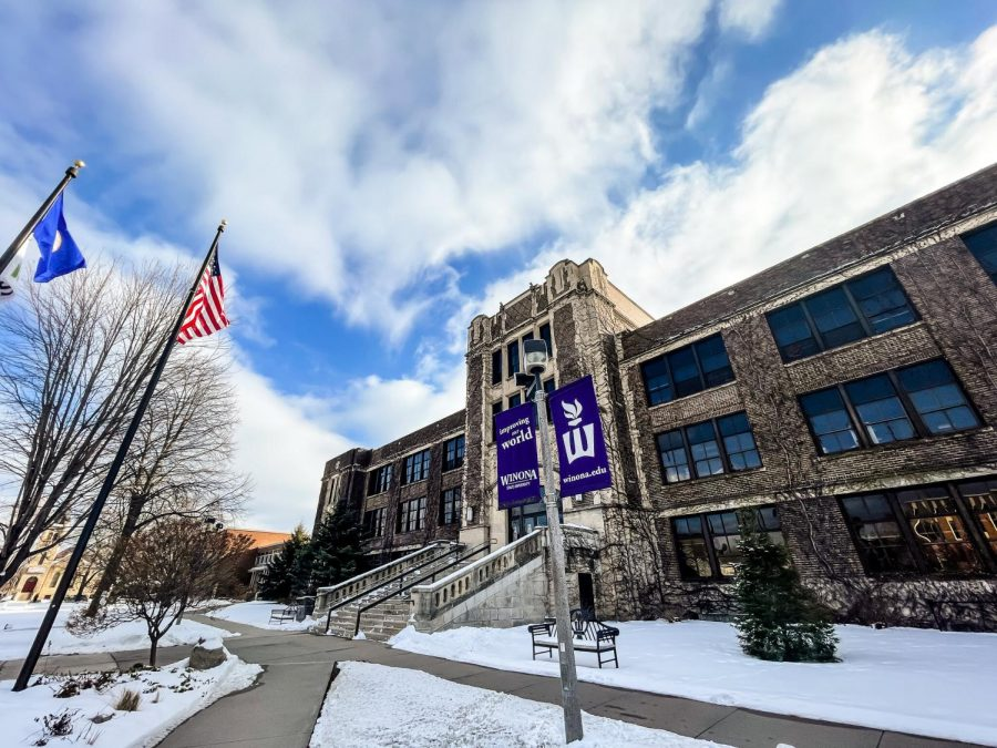 Winona State has been enduring a million-dollar budget deficit, first announced in the fall of 2019, which worsened due to COVID. Since the loss of a federal grant, the school has not held the gender-based violence programming it had been for years, like PACT Training or the campus climate survey.