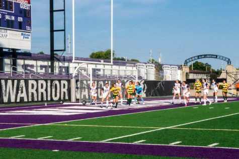 WSU Womens soccer team achieved their first victory on their second game of the season against  Northern Michigan University, 1-0 on Friday, Sept. 10 at Altra Credit Federal Union Stadium.