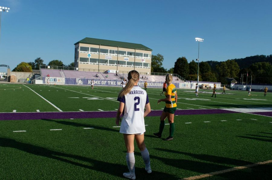 The+Winona+State+University+womens+soccer+team+fell+to+the+University+of+Sioux+Falls%2C+2-0+in+the+Northern+Sun+Intercollegiate+Conference+%28NSIC%29+opener+for+both+teams%2C+on+Friday%2C+Sept.+17+at+Altra+Credit+Federal+Union+Stadium.+The+warrior+came+back+the+next+game+on+Sunday+against+Southwest+Minnesota+State+University%2C+securing+a+win+by+2-1+on+the+family+weekend+game.