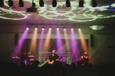 One banner event during homecoming week was the homecoming concert, the first concert on campus since fall of 2019, sponsored by the Warrior Entertainment Network and the Homecoming Committee