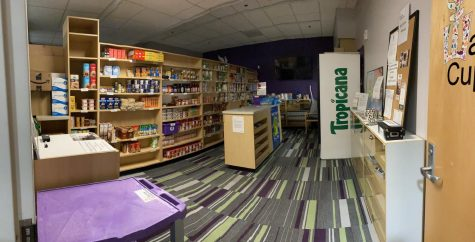 """Any student at Winona State can gain access to the Warrior Cupboard, regardless of what background they come from or current financial and housing status. The form that students have to fill out to gain access is titled, """"Warrior Cupboard access request"""" available in warrior space."""